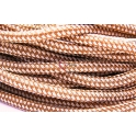 Cordão Tipo Paracord - Beje and Brown (10 mm)