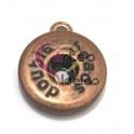 Base Pendente Easy Button Simples - Bronze
