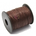 Fio de algodão brown (1 mm) - 1 metro