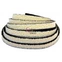 Cabedal Plano Especial Caviar - Cream (10 x 3 mm)