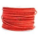 Cortiça Redonda de 5 mm - Vermelho Telha [cm]