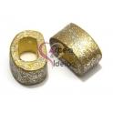 Cerâmica Média Gold / Glitter Silver (18 x 10)