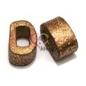 Cerâmica Média Cooper com Glitter Gold (18 x 10)