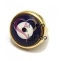 Conta Metal Olho Turco - Dourado (Extra-Grosso)