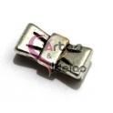 Conta Metal Separador Laço - Prateado (13 x 2)