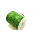 Redondo de 3 mm metalic green