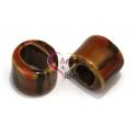 Cerâmica Tubo Médio Mix Brown (13 x 16 mm)