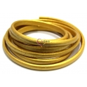 Cabedal Extra-Grosso Metal Gold