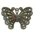 Pendente Metal Blue Collection - Borboleta (48 x 63 mm)