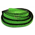 Cabedal Plano Especial Caviar - Green (10 x 3 mm)