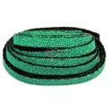 Cabedal Plano Especial Caviar - Grass Green (10 x 3 mm)