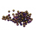 Contas de Cristal Facetada - Multi Purple Full Plated (4 mm) - [20 unds]