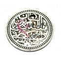 Pendente Metal Medalha - Prateados (25 mm)