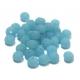 Conta de Cristal Facetada - Frost Light Blue (8 x 5 mm)