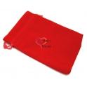 Saco de Veludo Vermelho (114 x 95 mm)