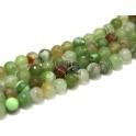 Fiada de Pedras Bolinhas Semi-Preciosas Verde Claro (8 mm) - [48 unds]