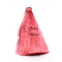 Pompom de Seda Comprido - Rosa (70 mm)