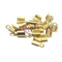 Terminais em Aço de Apertar - Dourados (3 a 5 mm) - [16 unds]