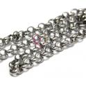 Corrente Aço Inox Elo Redondo (6mm) - Prateado [1 metro]