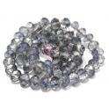 Fiada Contas de Cristal Facetadas - Light Denim Blue 2 (8 x 6) - [aprox. 72 unds]