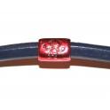 Conta Metal Menino - Vermelha (Extra-Grosso)
