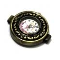 Mostrador de Relógio Antique - Dourado Velho