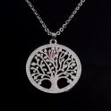 Fio Aço Árvore da Vida Brilhantes (mod. A1) - Prateado