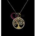 Fio Aço Inox Life Tree2 - Dourado