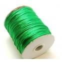 Cordão de seda green (2 mm) - 1 metro