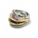 Anel Aço Inox Camadas - Prateado, Dourado e Dourado Rosa