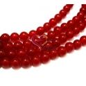 Fiada de Pedras Vermelhas (8 mm) - [48 unds]