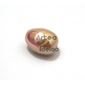 Egg Pérola Rosa (aprox. 20x18mm)