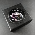 Pendente Aço Inox Gravação Melhor Educadora do Mundo - Prateado (30mm)
