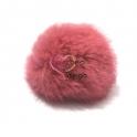 Pompom Fluffy - Rosa Velho