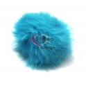 Pompom Fluffy - Azul Claro