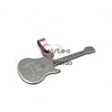 Pendente Aço Inox Guitarra - Prateado (20x50mm)