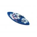 Pendente Acrílico Prancha Hawai - Azul (40x15mm)