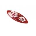 Pendente Acrílico Prancha Hawai - Vermelho (40x15mm)