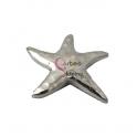 Pendente Metal Estrela do Mar - Prateado (68mm)
