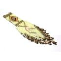 Pendente Big Tribal - Tons bege (120x50)