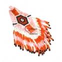 Pendente Tribal Grande de Missanga - Modelo 5