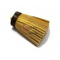 Borla Gorda Napa - Dourado com Castanho