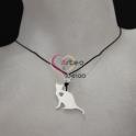 Fio de Seda One Shine Collection Aço - Gato [Prateado]