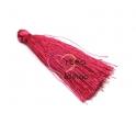 Pompom de Linha Seda Médio - Fuchsia (50mm)