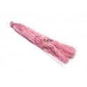 Pompom de Linha Seda Fino e Comprido - Rosa (90mm)