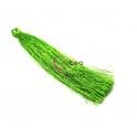 Pompom de Linha Seda Fino e Comprido - Verde (90mm)