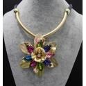 Colar Fashion Mood Shine Flower - Cores