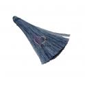 Pompom Médio de Seda - Azul Claro (60mm)