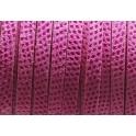 cabedal forrado camurça lexus - fuchsia (6 x 2)