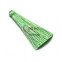 Pompom de Seda Comprido - Verde Claro (70 mm)